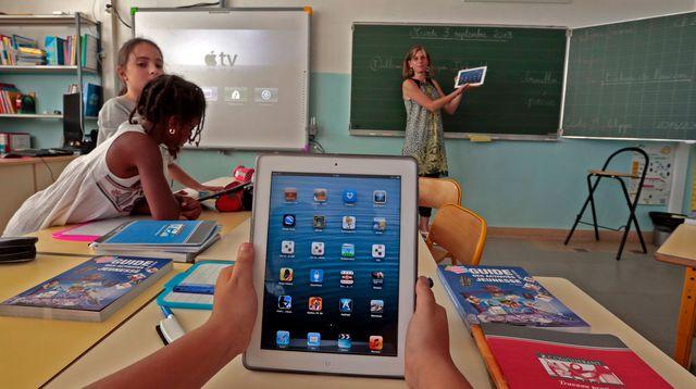 Apprentissage Tablette Ecole
